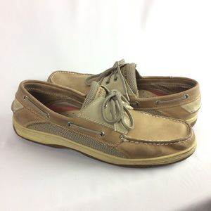 SPERRY | top sider boat shoes tan 13